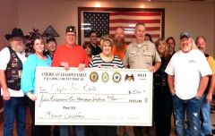 Cops For Kids Donation Legion Riders Photosm