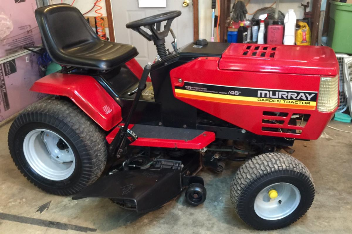 Murray Garden Tractor : Murray garden tractor for sale fully restored got the