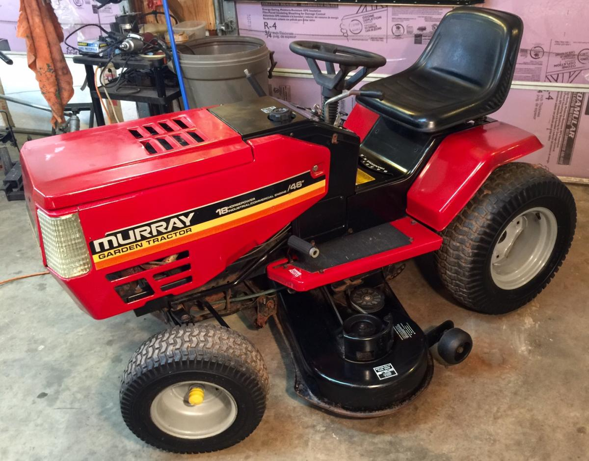 Murray Lawn Mowers Battery : Murray garden tractor for sale fully restored got the