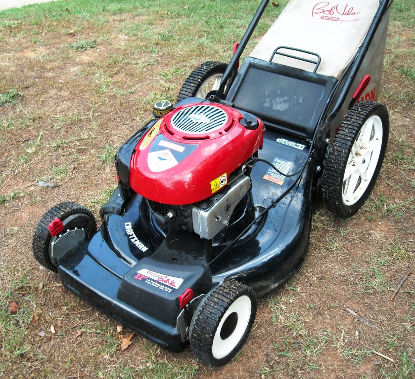 craftsman riding mower fuel filter craftsman 6 75 hp 3 in 1 self propelled lawn mower got