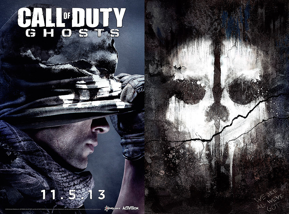 Call of Duty Ghost Icon Call of Duty Ghosts Poster lg