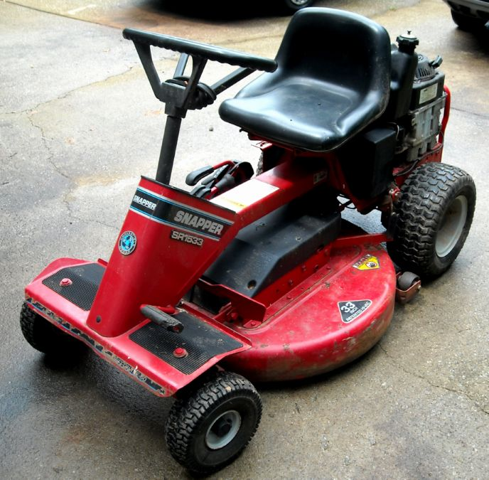 30 Snapper Rear Engine Mower on wheel horse mower deck for sale