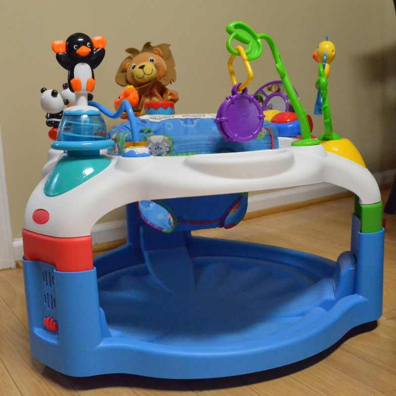 25454dbe4aaf sleek 37df6 c6dd8 baby einstein discovery center exersaucer ...