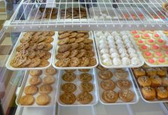 Honey Cakes, Thumbprint cookies, oatmeal cookies...oh my!.JPG