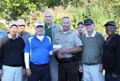 Old golfers support Cops for Kids