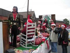 Picture of the Pcom float