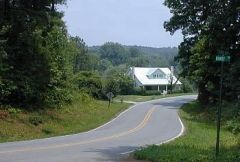 Pretty road scene from our archives (2000)