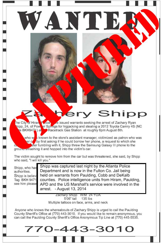 shipp wanted capt