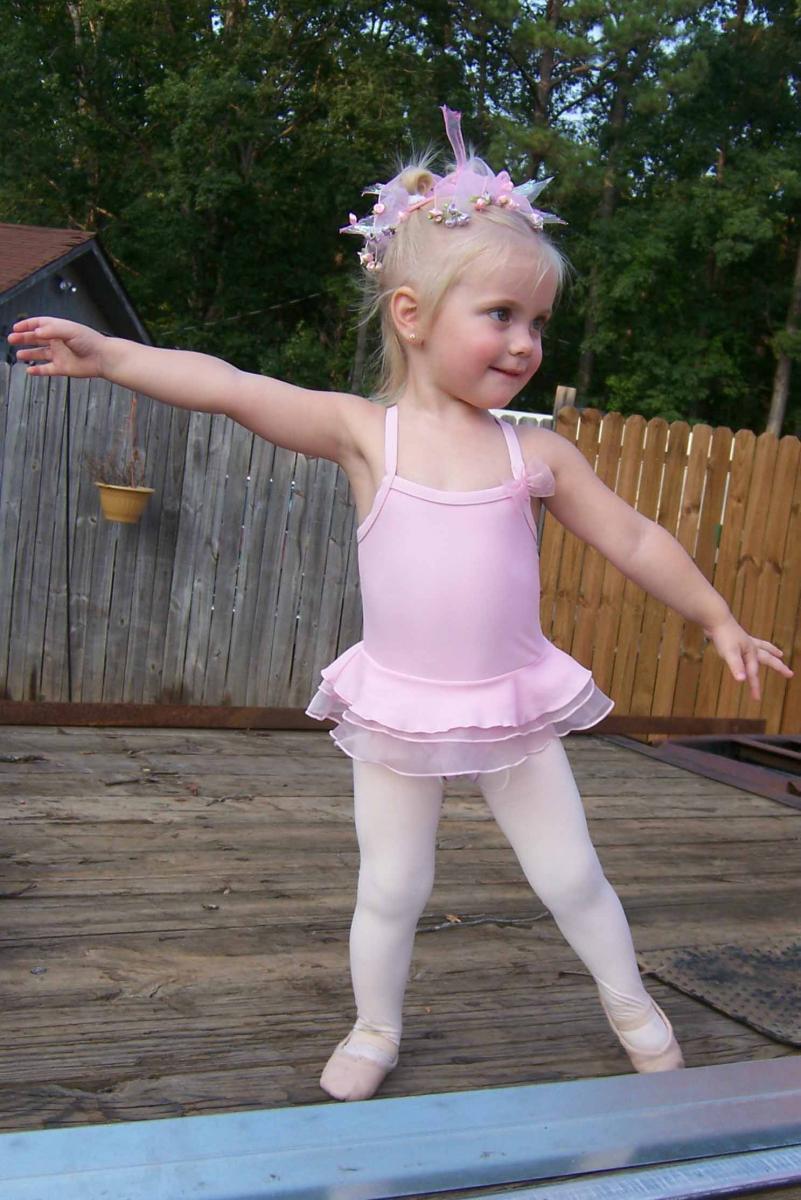 My little dancer