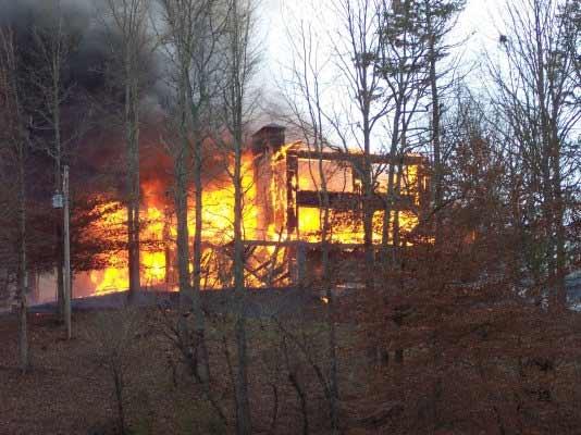 Bleakley home fire