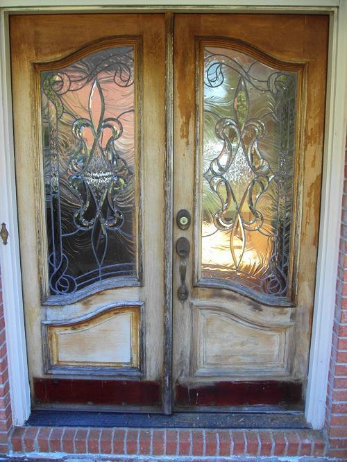 Entry Door Refinish