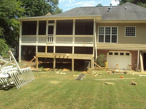 3rd Day of Deck Build
