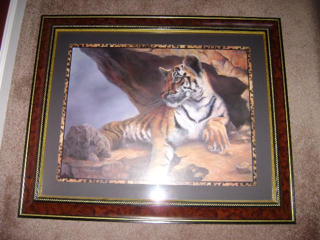 Home Interior Tiger Picture
