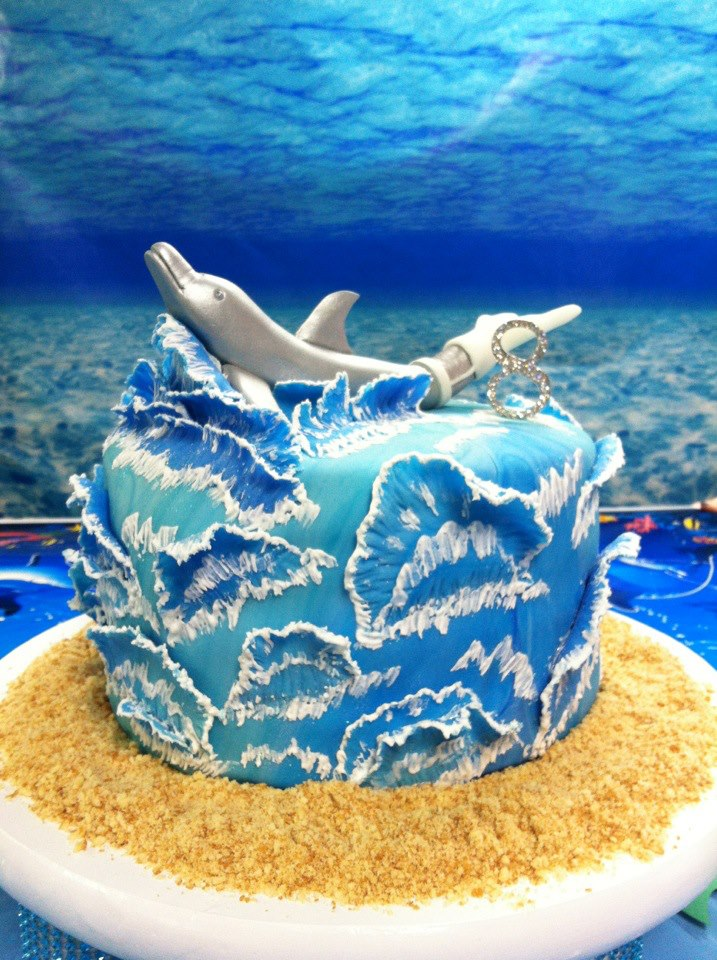 Superb Grand Daughters Birthday Cake Dolphin Tales Recent Topics Funny Birthday Cards Online Alyptdamsfinfo