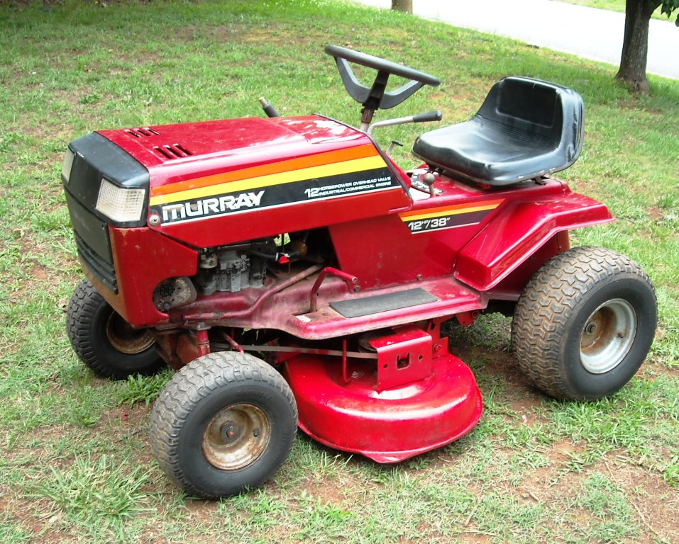 Murray riding Mower Manual online