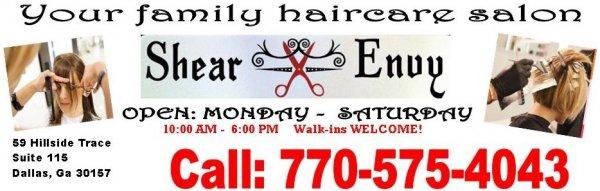 Shear Envy Family HairCare Salon