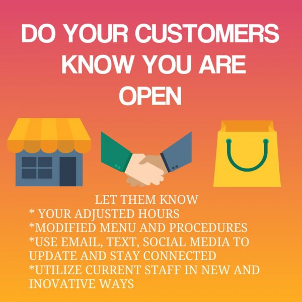 Let customers know you are open.jpg