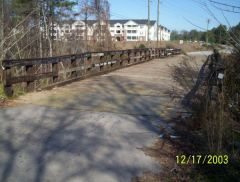 the old bridge harris road