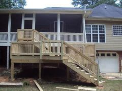 4th Day of Deck Build