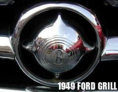 1949 Ford Grille