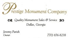 Prestige Monument Company